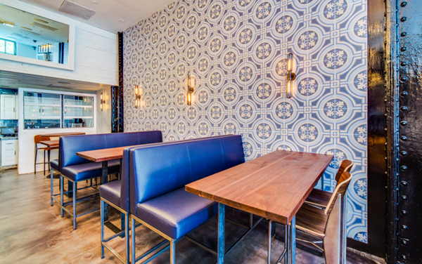 Moroccan Tile, accent wall