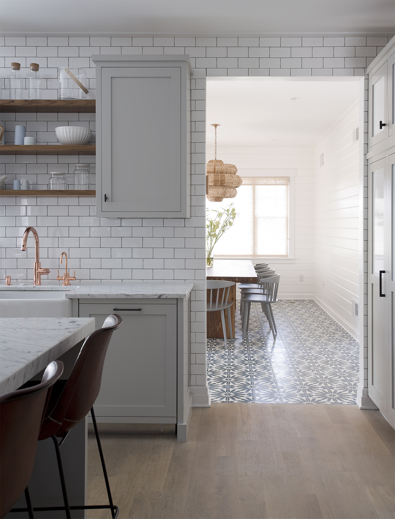 moroccan concrete tiles- the bold and the beautiful! | elizabeth