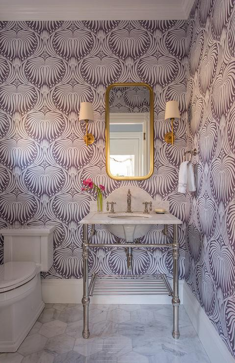 Farrow & Ball, Lavender, Wallpaper