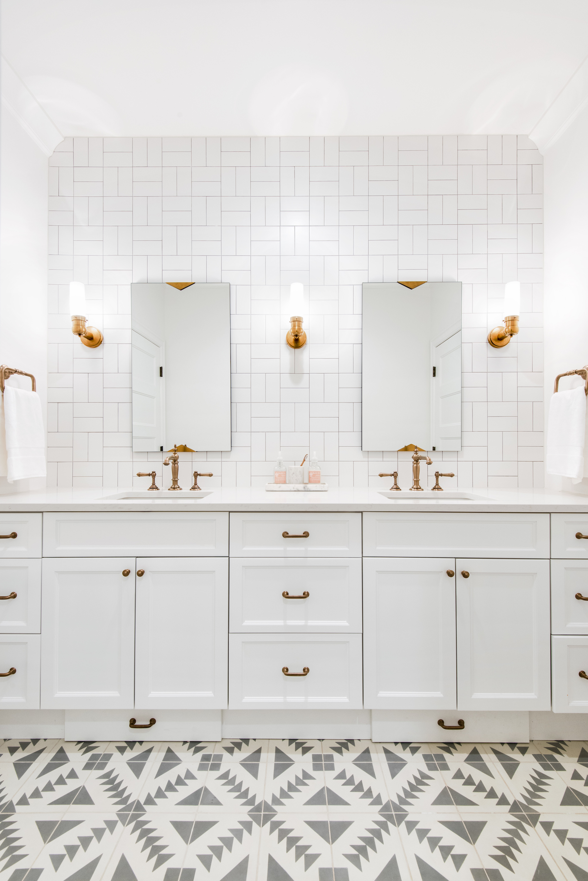 Not your everyday subway tile patterns elizabeth taich design via dailygadgetfo Gallery
