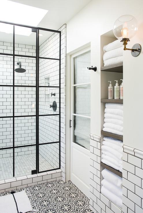 Elizabeth Taich Design, Moroccan, Tile, Bath